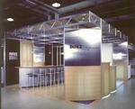 Выставочный стенд, изготовленный из конструктива MERO-TSK