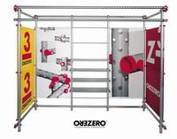 Выставочный стенд из модульной системы ZERO
