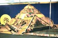Выставочный стенд - пирамида