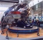 Выставочный стенд из конструктива М12