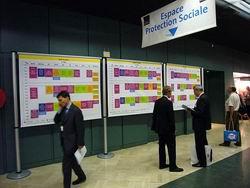 информационный стенд, стенды информации на системе Easy show