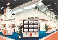 Выставочный стенд из модульной системы FOBEMA